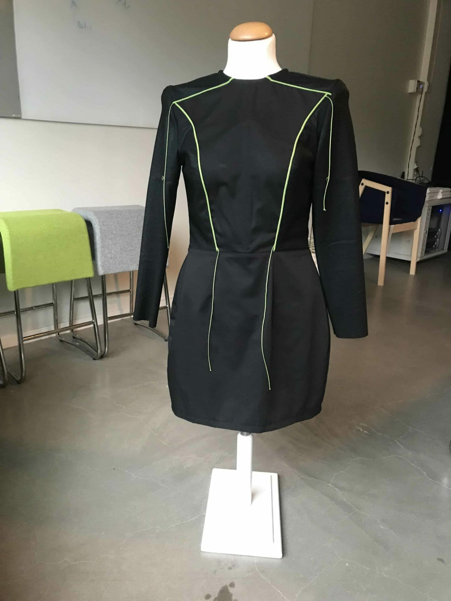 Clothing that allows you to 'feel' somebody looking at you Deafblind UK