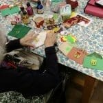 Keeping Dorothy crafting! Deafblind UK