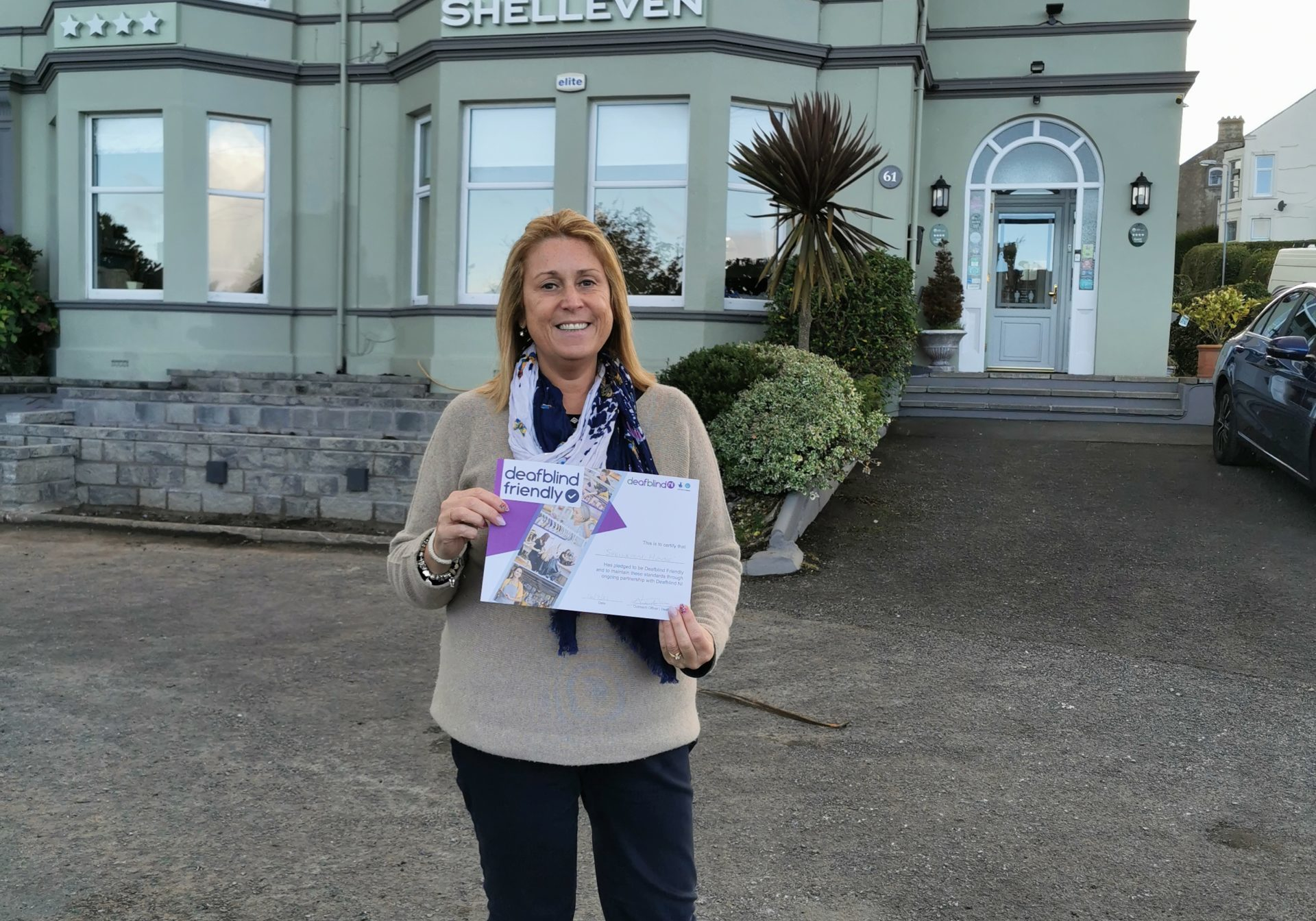 Sue Toner from Shelleven Guest House, Bangor
